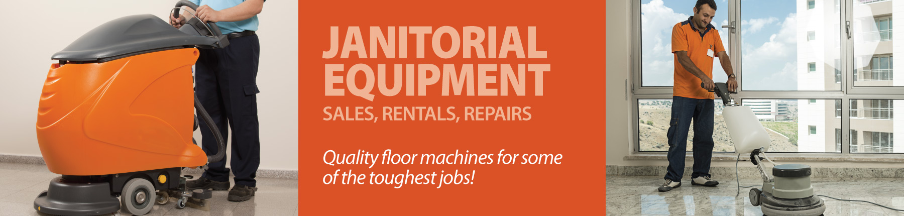 Home Slider - Janitorial Equipment