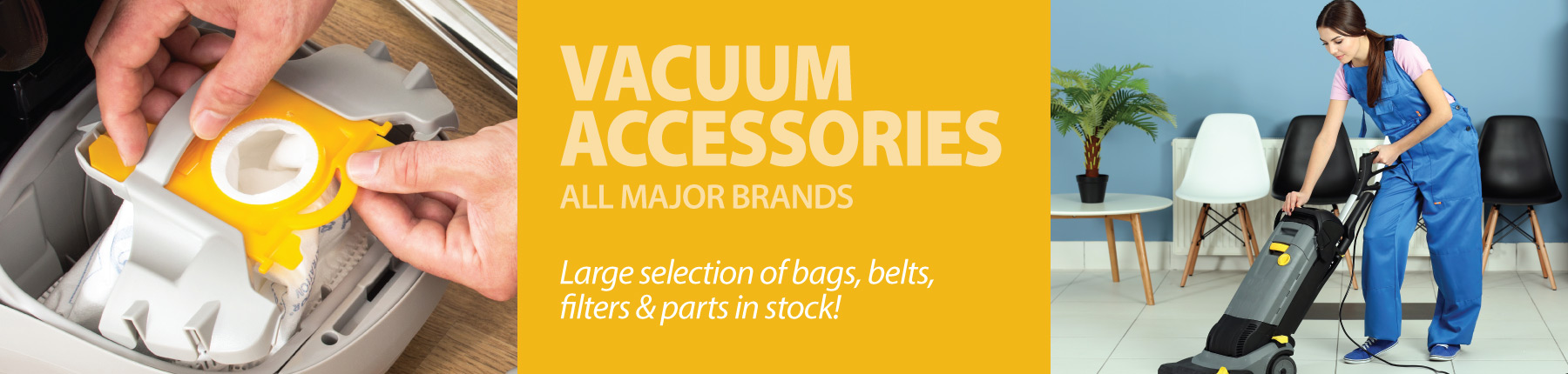 Home Slider - Vacuum Accessories