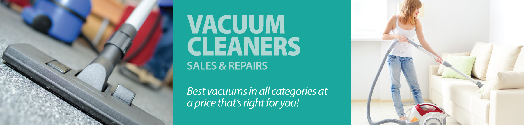 Home Slider - Vacuum Cleaners